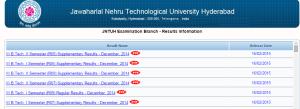 JNTUH 2-1(R13,R09,R07,R05) & 2-2 Regular/Supply Results 2014