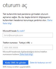 hotmail giris yap